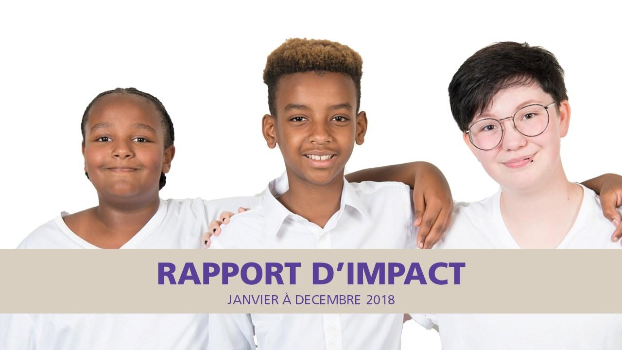 Rapport d'impact 2018